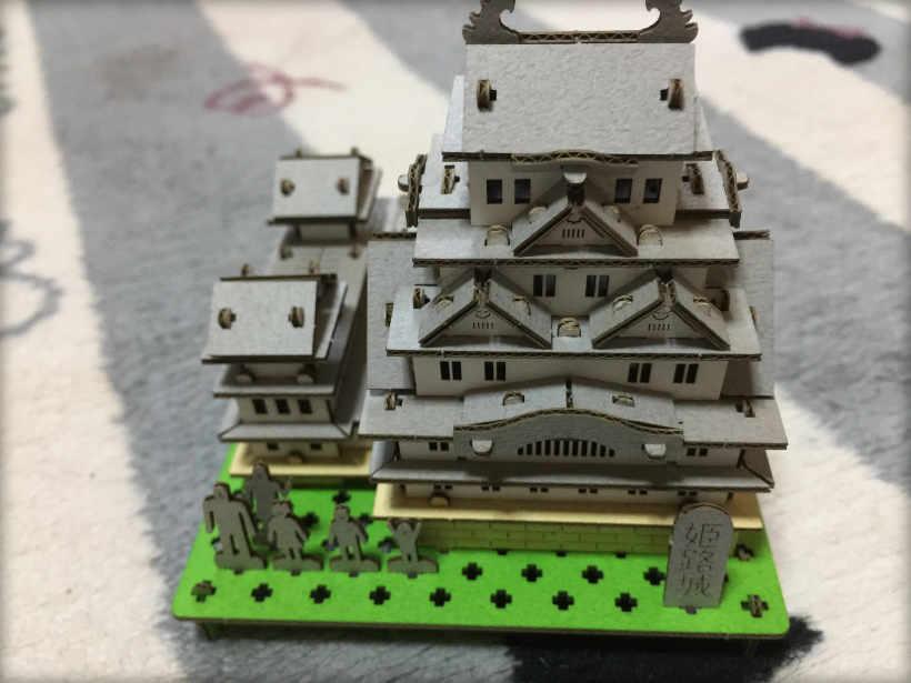 姫路城 完成