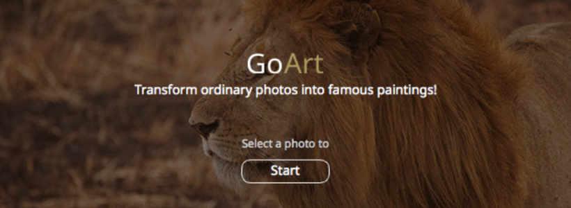 写真をアート風に変換し微調整も可能なMacApp『GoArt』