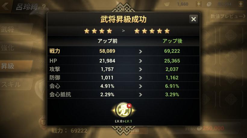 ★5へ昇級