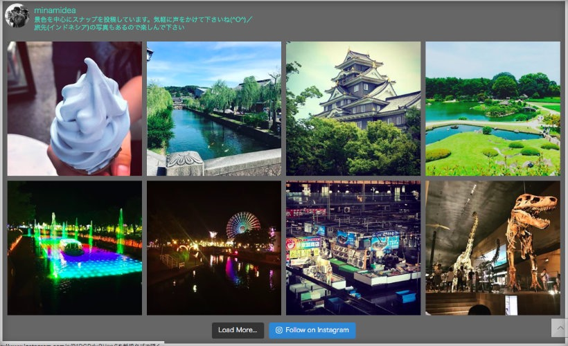 Wp instagram表示