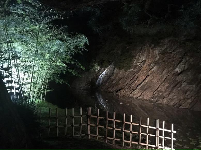 栗林公園 滝