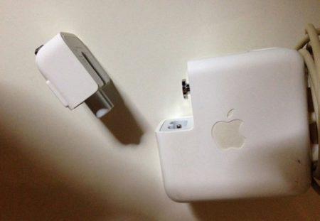 Magsafeのランプがつかなくなり充電されない場合の対処方法