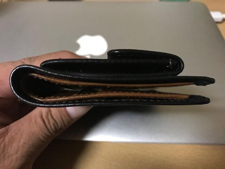 Whitehousecox財布の厚み